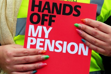 Hands off my pension