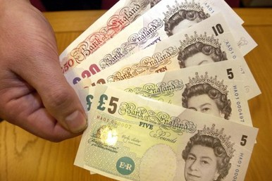 Uk sterling cash