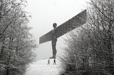 Picture of the Angel of the North