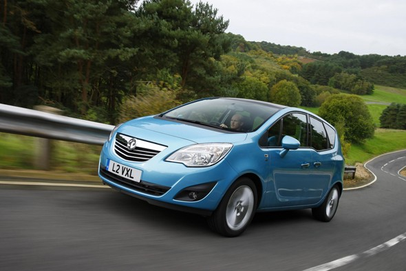 2. Vauxhall Meriva: 0.05 days