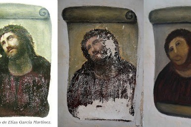 fresco in three stages