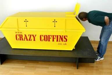 skip coffin