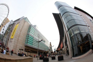 Selfridges in Manchester