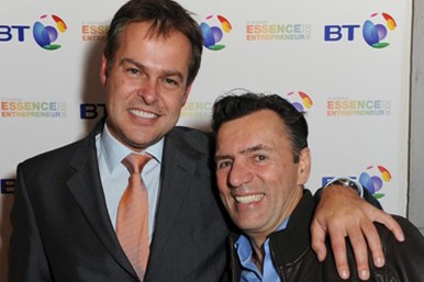 Peter Jones and Duncan Bannatyne