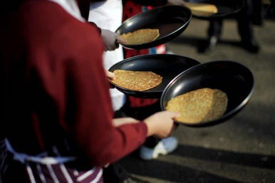 pancake race