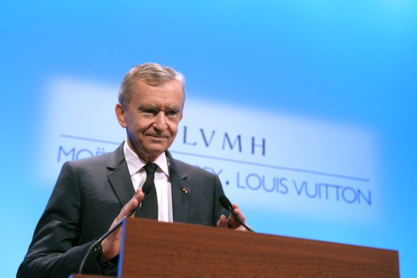 10. Bernard Arnault & Family: $29 billion