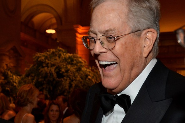 6. David Koch: $34 billion