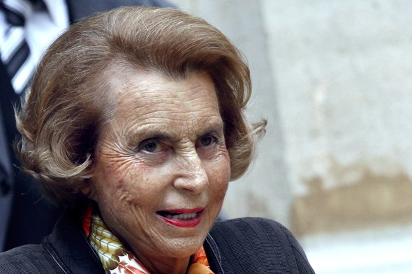 9. Liliane Bettencourt & Family: $30 billion