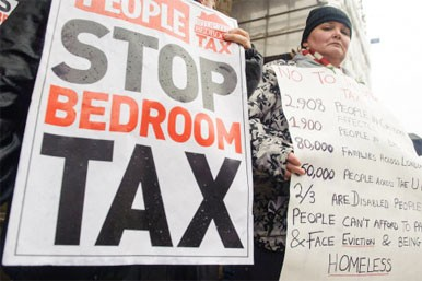 'Bedroom tax' prompts payment surge
