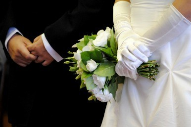 Groom jailed for robbing wedding venue