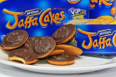 Burglar caught by Jaffa Cake