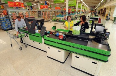 Asda's new Rapid Scan check-out system