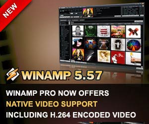 Winamp 5.57 Download