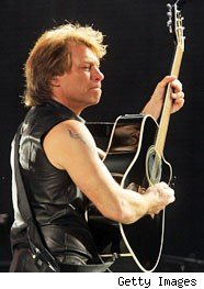 Bon Jovi - Credit: Getty Images