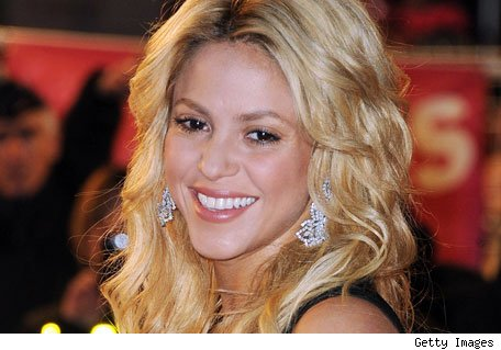 Shakira - Credit: Getty Images