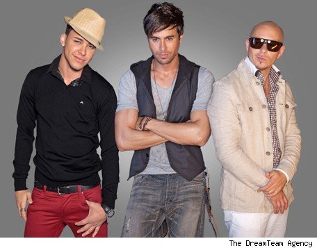 Enrique Iglesias, Pitbull y Prince Royce - Credit: The DreamTeam Agency