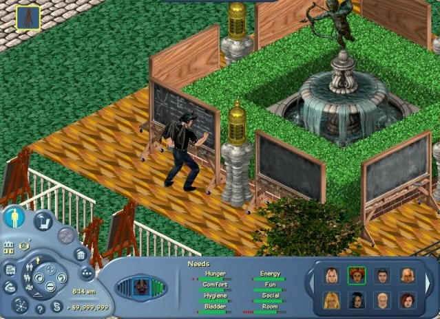 Sims Online Game