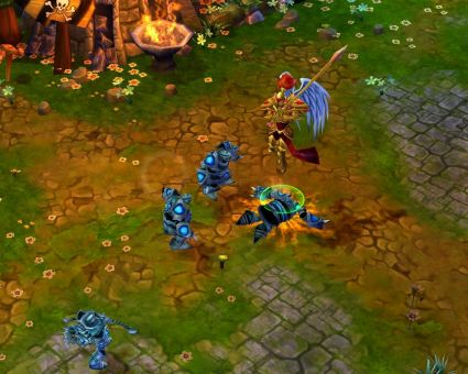 games announced plans to release their online fantasy action rts game