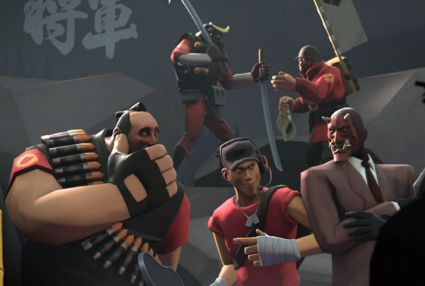 team fortress 2 total war shogun 2