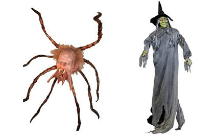 spider witch decorations