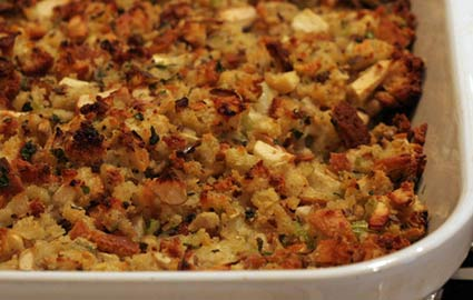 Thanksgiving Recipe: Easy Stuffing Recipe