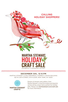 Martha Stewart Craft Fair