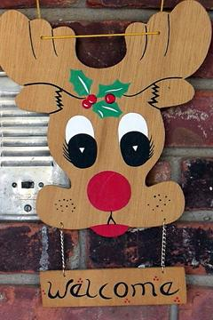 rudolph welcome sign