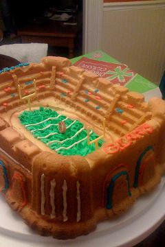 super bowl cake