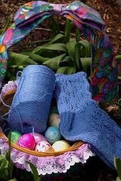 easter craft basket
