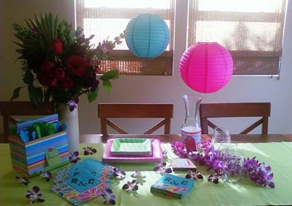 DIY luau crafts