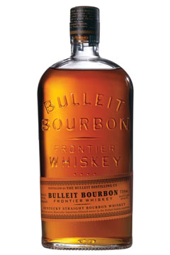 bottle of Bulleit Bourbon