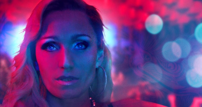 Only God Forgives' Poster: Kristin Scott Thomas Goes Neon in ...