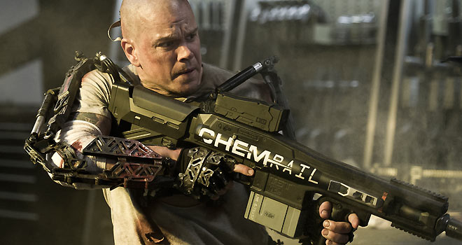 elysium 660 Elysium Trailer: Matt Damon Back as Kick Ass Action Hero (EXCLUSIVE)