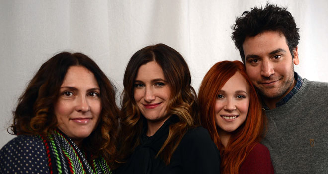 Jill Soloway, Kathryn Hahn, Juno Temple, and Josh Radnor