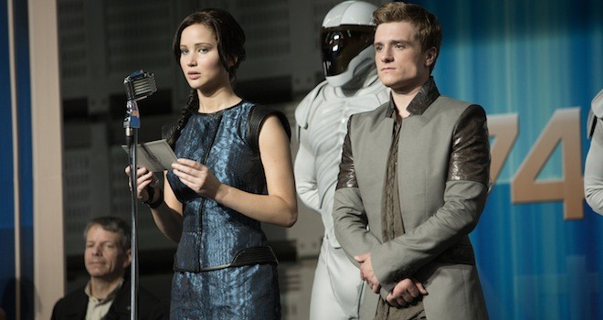 hunger games catching fire unscripted