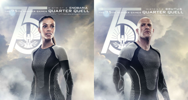 Catching Fire Quarter Quell Tributes Enobaria brutus quarter quellQuarter Quell Tributes