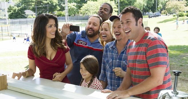 grown ups 2 Weekend Movies: Grown Ups 2, Pacific Rim, & More (VIDEO)