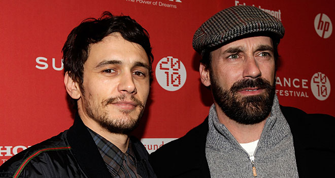 James Franco and Jon Hamm