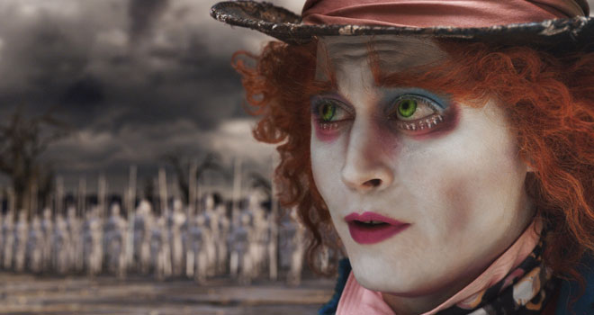 Johnny Depp in 'Alice in Wonderland'