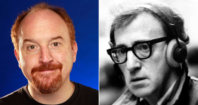 Louis C.K. and Woody Allen
