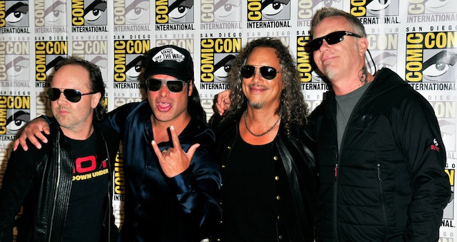 metallicaoriginal Comic Con 2013: Metallica on Why Their New Movie Through the Never Is Unlike Anything Youve Ever Seen