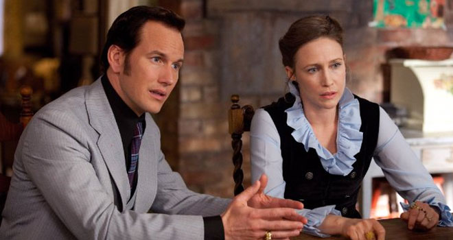 Patrick Wilson and Vera Farmiga in 'The Conjuring'