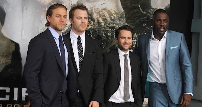 Pacific Rim European Premiere: Charlie Hunnam, Idris Elba Invade London (PHOTOS)