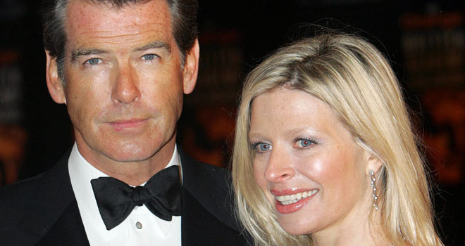Pierce Brosnan and Daughter Charlotte