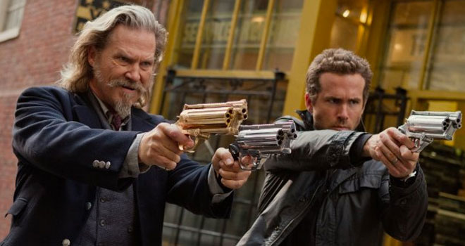 Jeff Bridges and Ryan Reynolds in 'R.I.P.D.'
