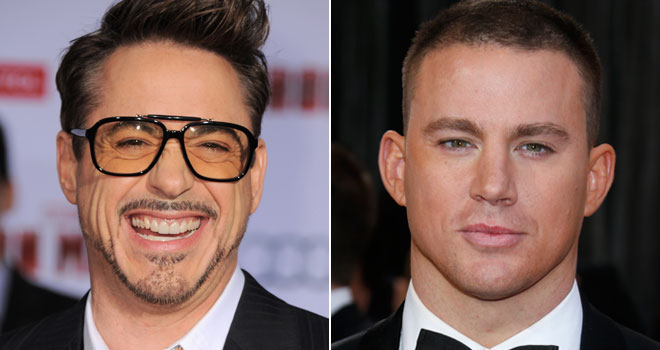 Robert Downey Jr. and Channing Tatum