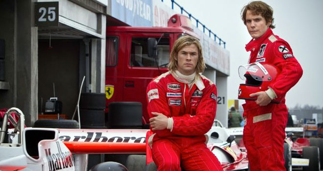 Chris Hemsworth in 'Rush'