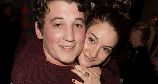 Miles Teller and Shailene Woodley