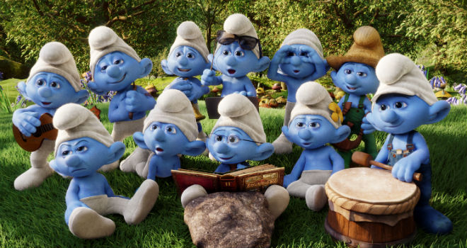 Smurfs Help Us Make America Bluetiful