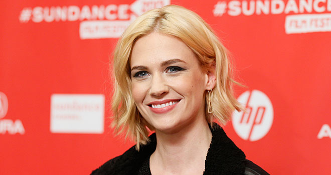 January Jones at the 2013 Sundance Film Festival
